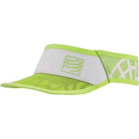 Compressport Spiderweb Ultralight Visor white-green